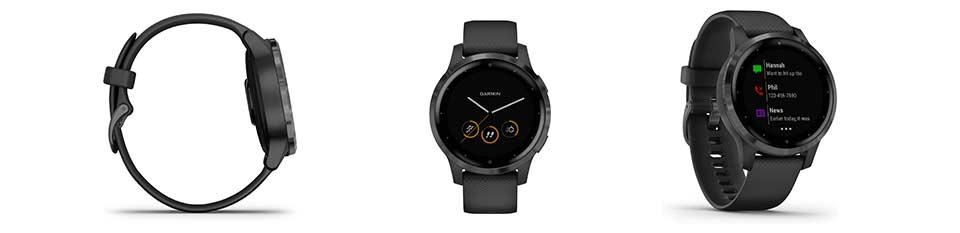 Garmin Vivoactive 4S - Zwart - 40 mm