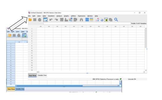 Datavoorbereiding in SPSS 27