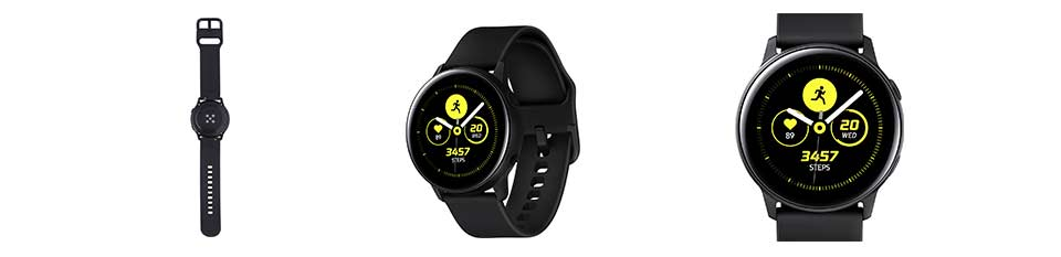 Samsung Galaxy Watch Active Zwart - NL