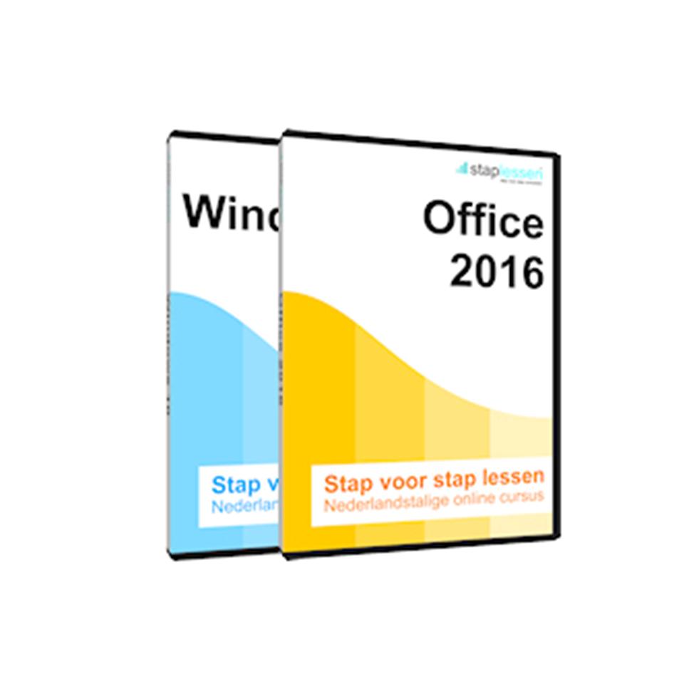 ACTIE Cursus: Staplessen Windows 10 en Office 2016 (Software)