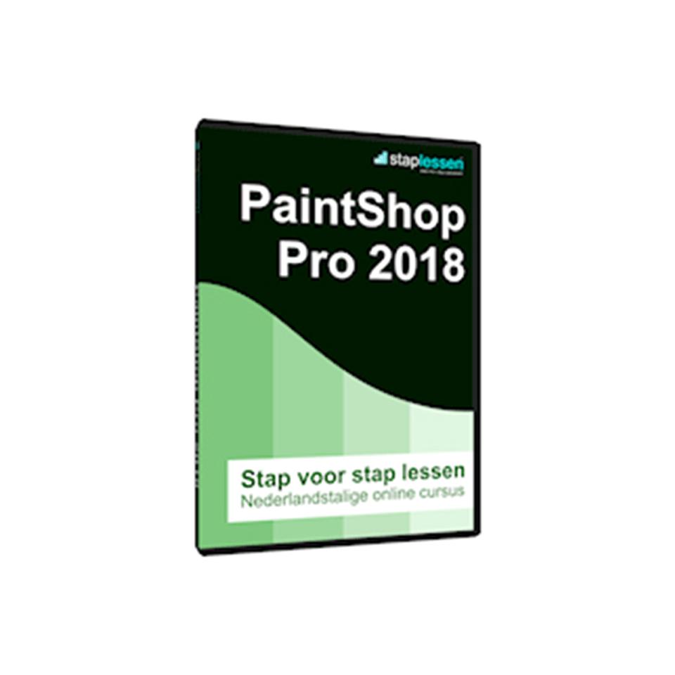 Cursus: Staplessen PaintShop Pro 2018