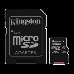 Kingston Canvas Select 128 GB MicroSD - Class 10   SURFspot
