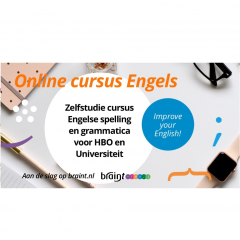 Braint online cursus Engelse spelling en grammatica