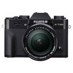 Fujifilm X-T20 Zwart + XF 18-55mm f/2.8-4.0 R LM OIS systeemcamera