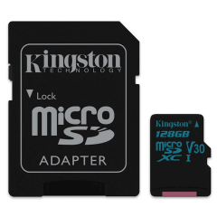 Kingston Canvas Go 128 GB MicroSDXC - Class 10 | SURFspot