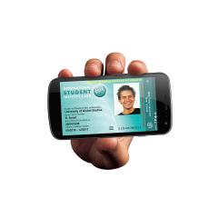 Digitale ISIC studentenkaart (App)