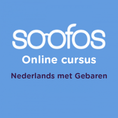 Online cursus Soofos – Nederlands met Gebaren (NmG)