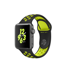 Apple Watch Nike+ Spacegrijs - Zwart/Volt