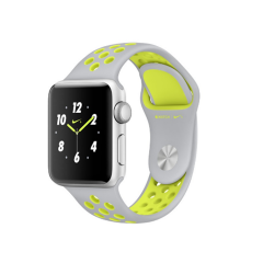 Apple Watch Nike+ Zilver - Zilver/Volt