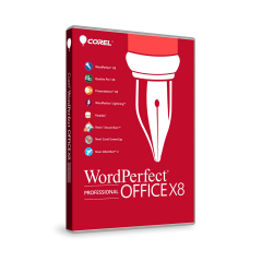 Corel WordPerfect Office Professional X8