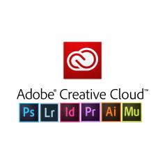 Adobe Creative Cloud met services medewerker