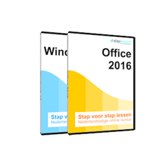 ACTIE Cursus: Staplessen Windows 10 en Office 2016 (Software)