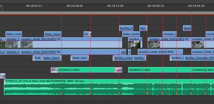 Adobe Premiere-marker