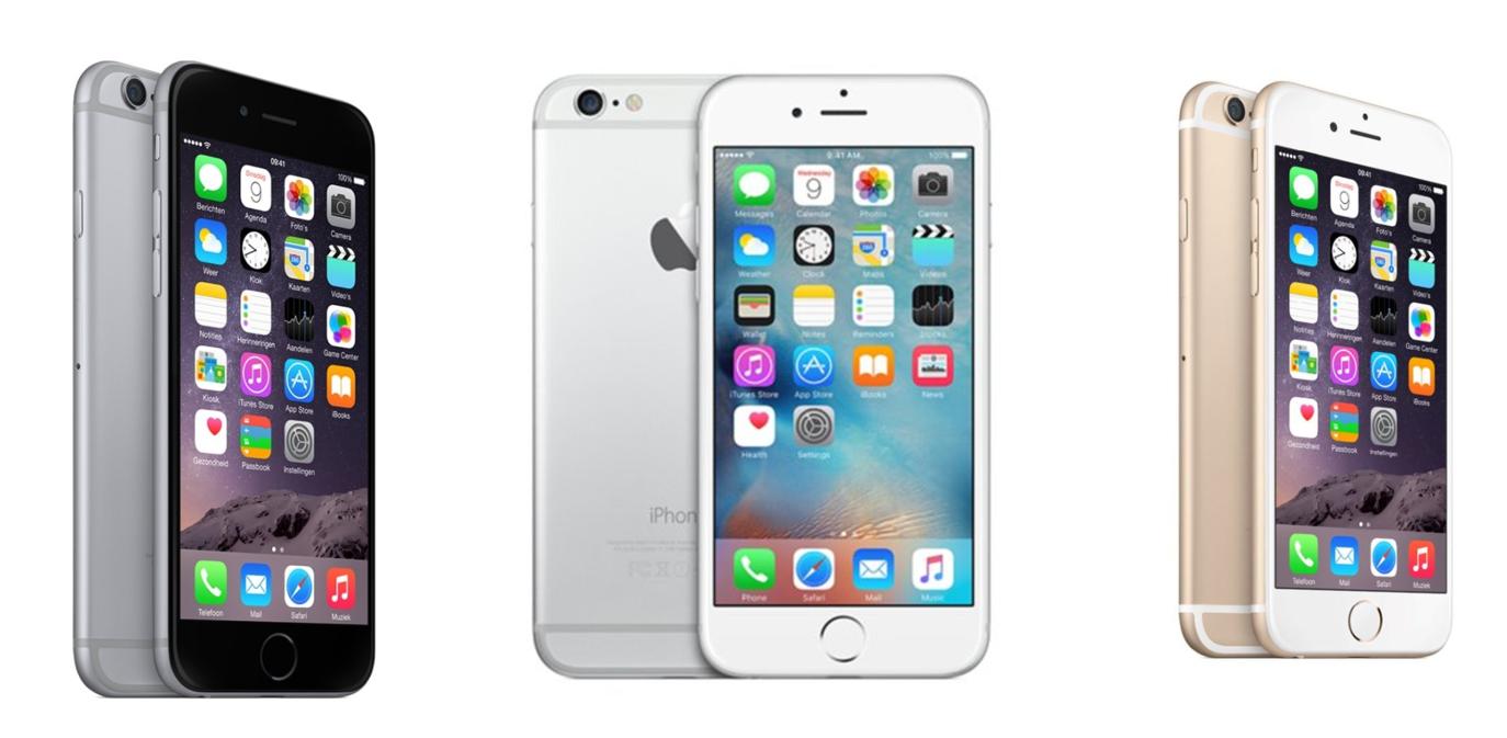 Apple iPhone 6 los toestel prijzen vergelijken Apple iPhone 6 (nieuw) los toestel vergelijken op prijs - iPhoned