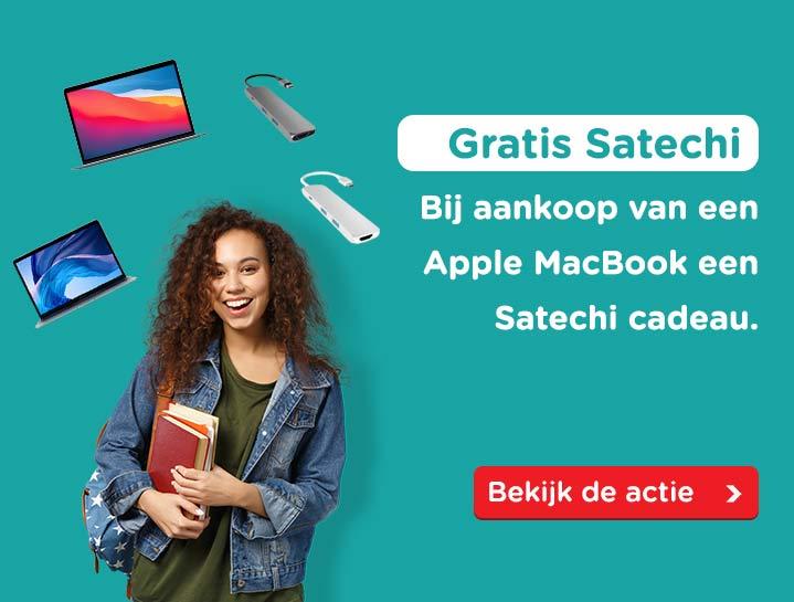 Apple MacBook en Satechi actie