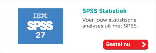 SPSS Statistiek