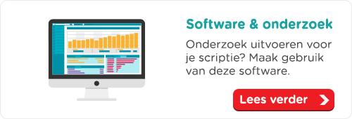 Software voor onderzoek