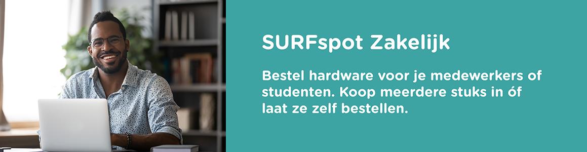 SURFspot zakelijk - software en hardware