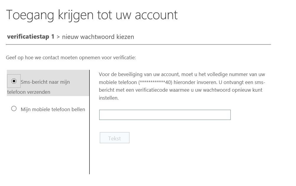 Wachtwoord verificatie Office 365 ProPlus